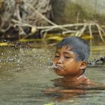 Anak Mandi (Sungai Salato)